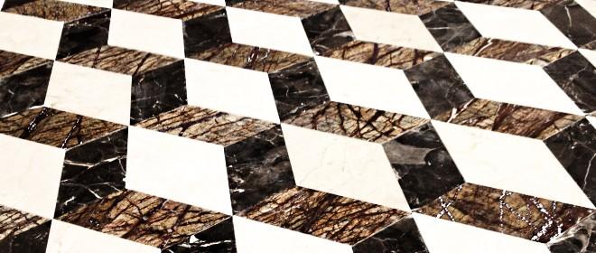 Lucidatura e trattamento pavimenti in marmo